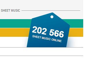 В нотном архиве MusicaNeo – 200 000+ нот!