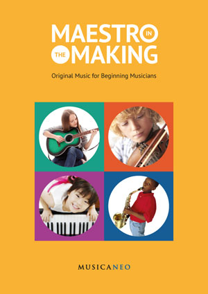 "The Digital sheet music edition ""Maestro-in-the-Making"" is published!"